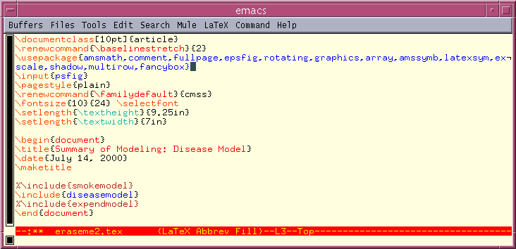 Getting Started with GNU Emacs
